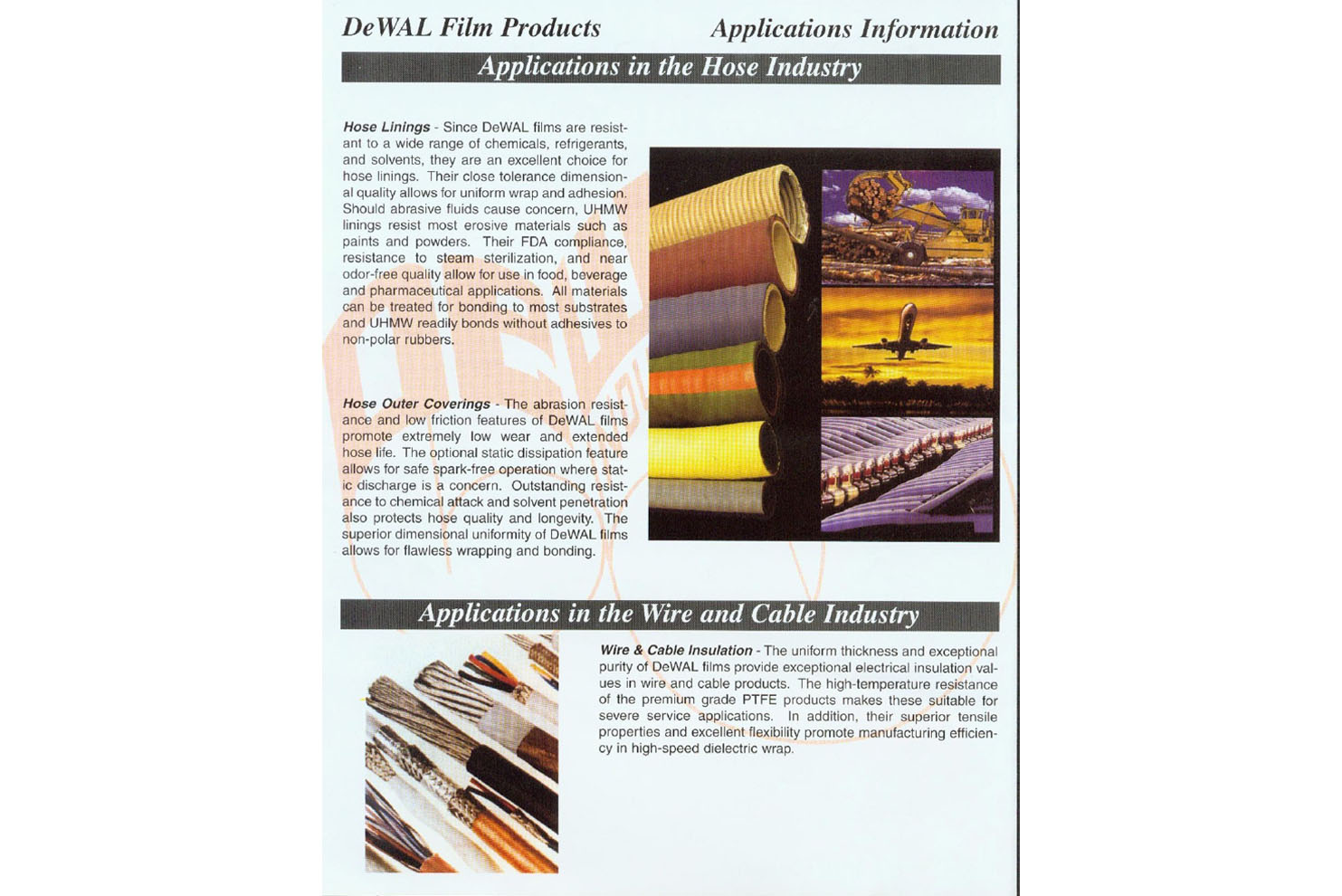 PTFE And UHMW Films